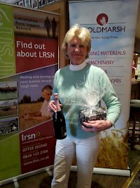Runner up in the Ladies Points Competition- Sheena Read