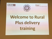 LRSN and partners launch the Rural + Workshop