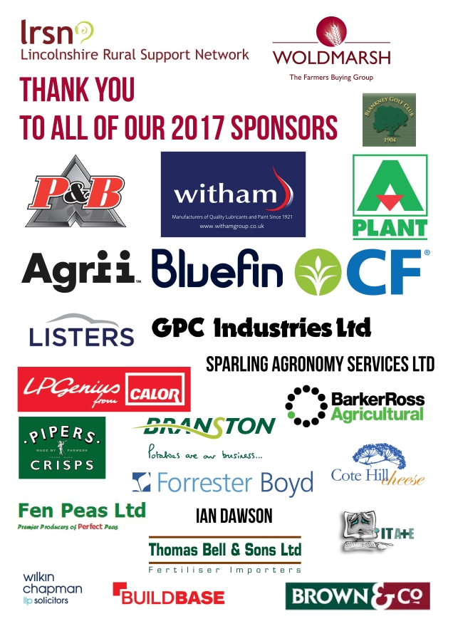 Our 2017 Golf Day Sponsors