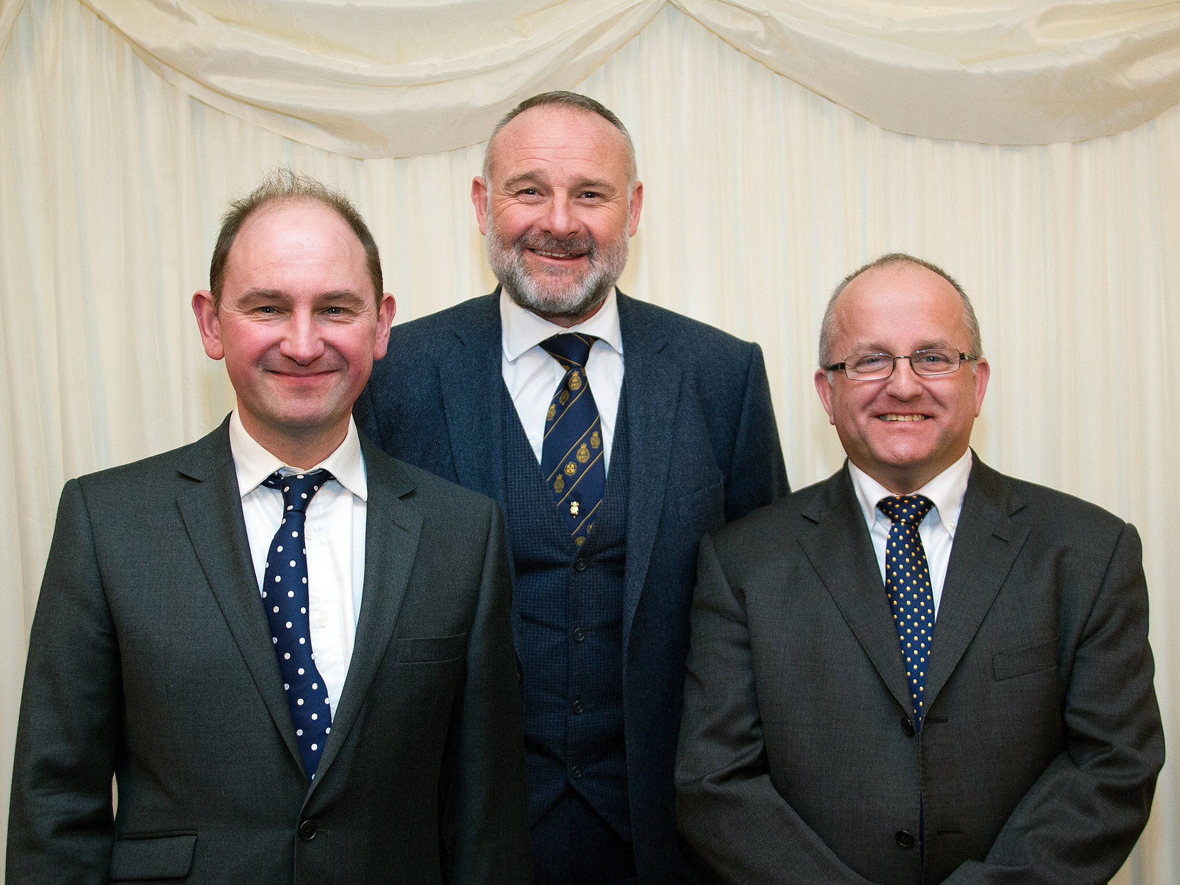 Left to right: Matthew Naylor, Sean Sparling and Alan Robson at the House of Lords on the 10th February